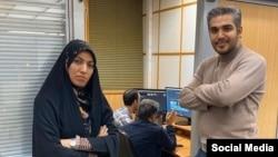 پیش از آمنه سادات ذبیحپور، نام علی رضوانی به عنوان «بازجو-خبرنگار» مطرح شده بود