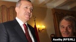 Рәҗәп Тайип Эрдоган һәм Мостафа Җәмилев
