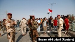 Басра ин моҳ шоҳиди чанд тазоҳурот шуд