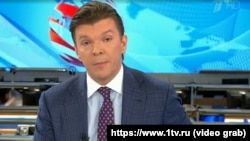 Russian TV anchor Kirill Kleimenov made his remarks on a leading news program. (file photo)