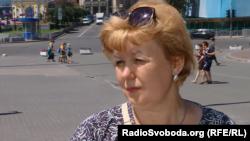 Сталіна Чубенко, мати вбитого Степана Чубенка