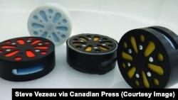 Новая канадская шайба для слепых и слабовидящих