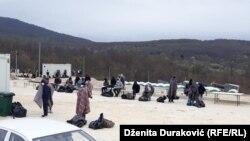 "Migranti u kampu ""Lipa"" u blizini Bihaća, 21.04.2020."