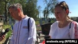 Кандыдаты ў дэпутаты Тацяна Малашчанка і Мікалай Чарнавус (старэйшы)