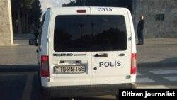 Polis maşını, arxiv foto