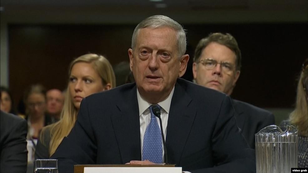General Mattis Senat dinləməsində