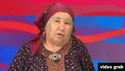 RFE/RL Turkmen Service correspondent Soltan Achilova