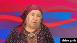 Туркменский журналист Солтан Ачилова.