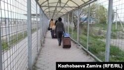 Gyrgyzystanyň Gazagystan bilen serhedi
