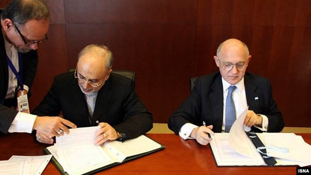 Argentinian and Iranian representatives had already inked a memorandum of understanding on the 'truth commission' to investigate the 1994 bombing of a Jewish center in Buenos Aires that killed 85 people.
