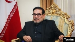 File photo:Ali Shamkhani, the secretary of the Supreme National Security Council of Iran