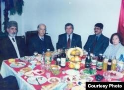 Almurad Əliyev, Sabir Rüstəmxanlı, Mahmudəli Çöhrəqanlı və Sabir Əhmədli... 2002-ci il.