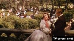 Олівія де Гевіленд у ролі Мелані Вілкс у легендарному фільмі «Звіяні вітром»