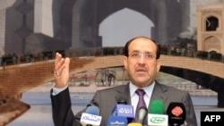 رئيس وزراء العراقي نوري المالكي
