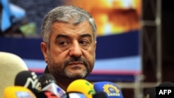 Mohammad Ali Jafari, the head of the Islamic Revolutionary Guards Corps.