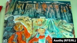 Төмән рәссамы Әлфия Мөхәммәтова рәсемнәре