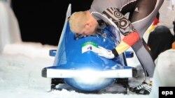 Олимпийский чемпион Ванкувера, бобслеист из Германии Андре Ланге
