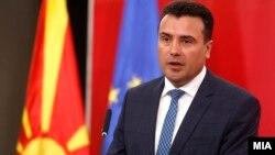 Премиерот Зоран Заев на прес-конференција во Владата