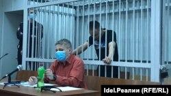 Айрат Дильмухаметов во время очередного заседания суда по его делу