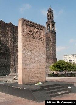 """""""Үч доор маданияты"""" аянтындагы мемориал. Мехико."""