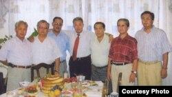 Курманбек Бакиев вместе с братьями