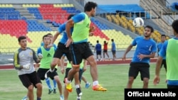 Malaysia -- Tajik youth football team, 23Jun2012