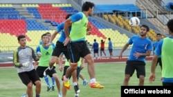 Malaysia -- Tajik youth football team, 23Jun2012