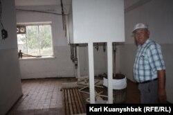 Секен Ыбырай, сотрудник акимата Саржальского сельского округа.