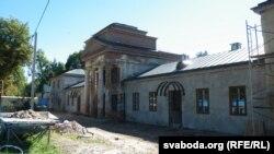 Рэстаўрацыя маёнтку Агінскіх па стане на восень 2013-га