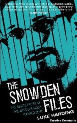 "Обложка книги Люка Хардинга ""Файлы Сноудена"""