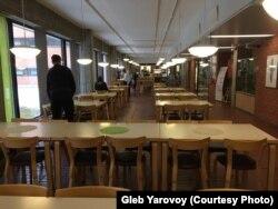 Cтоловая при Университете Восточной Финляндии, 16 марта