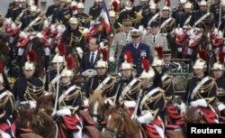 Парад в День взятия Бастилии. 2012 год