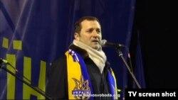 Vlad Filat pe scena EuroMaidanului din Kiev