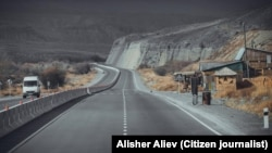Дорога в Кыргызстане. Иллюстративное фото.