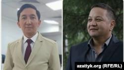 Кайырбек Маныбаев жана Канатбек Мурзахалилов.