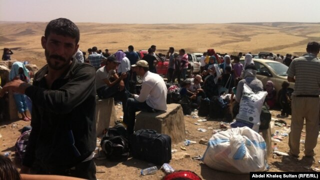 The UN refugee agency has struggled to cope with the sudden influx of Kurdish refugees from Syria into Iraq.