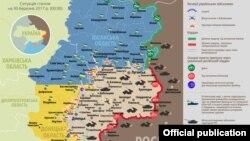 Ситуация в зоне боевых действий на Донбассе, 30 марта 2017