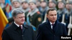 Петро Порошенко та Анджей Дуда, 15 грудня 2015 року