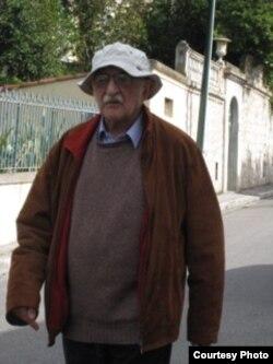 Александр Пятигорский в Ницце, 2009. Фото Людмилы Пятигорской