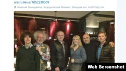 Снимок из Твиттера Алексея Венедиктова