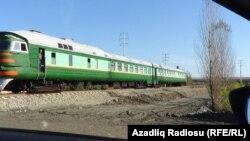 Azərbaycan-İran yolunda qatar