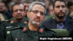 File - Gholamhossein Gheybparvar is a senior officer in the Revolutionary Guards who was appointed September 7, 2019 as commander of a key security force, undated.