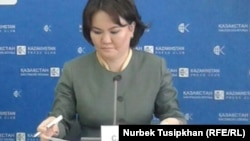Сауле Егеубаева, заместитель председателя правления Единого накопительного пенсионного фонда (ЕНПФ).