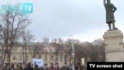 Demonstrația antisemită de la Chișinău