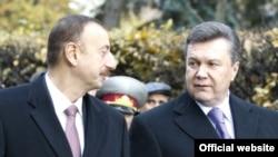 Президент України Віктор Янукович та президент Азербайджану Ільгам Алієв, Київ, 28 жовтня 2010 року