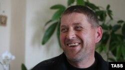 Самаабвешчаны мэр Славянска Вячаслаў Панамароў