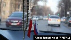В бишкекском такси. Иллюстративное фото.