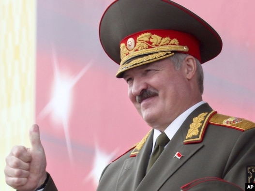 Alexander Lukashenko (Photo courtesy of rfe/rl)