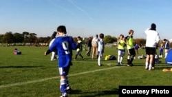 Chelsea футбол клубының 9-номерлі жас ойыншысы Дариус Нуритов.