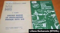 Cărți despre NATO pentru sistemul de învățământ al Partidului Comunist din RSS Moldovenească